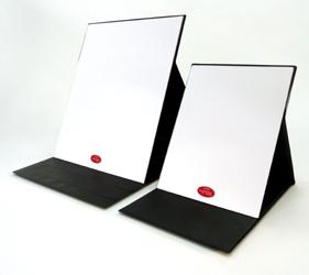 ナピュア プロモデル折立ミ  ラーの最大サイズです。(右側はLサイズ)