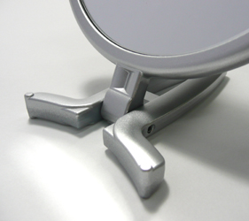 安定感があって使いやすい折立ハンドル。
